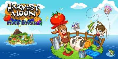 HARVEST MOON- MAD DASH Game Review
